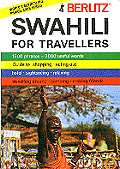 Berlitz Swahili phraze book.