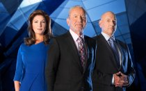 For use in UK, Ireland or Benelux countries only Undated BBC handout photo of (left to right) Karren Brady, Lord Sugar and Claude Littner ahead of the start of this year's BBC1 programme, The Apprentice. PRESS ASSOCIATION Photo. Issue date: Tuesday October 6, 2015. See PA story SHOWBIZ Apprentice. Photo credit should read: Jim Marks/Boundless/BBC/PA Wire NOTE TO EDITORS: Not for use more than 21 days after issue. You may use this picture without charge only for the purpose of publicising or reporting on current BBC programming, personnel or other BBC output or activity within 21 days of issue. Any use after that time MUST be cleared through BBC Picture Publicity. Please credit the image to the BBC and any named photographer or independent programme maker, as described in the caption.