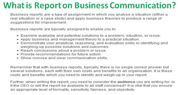effective business communication report written provide gu Written communication includes written words, graphs, charts, manuals, reports, diagrams, pictures, letters, circulars etc written communication is the most common form of communication used in an organisational set up to be effective, written communication must posse's four important characteristics.