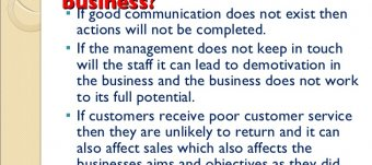 Poor business communication skills