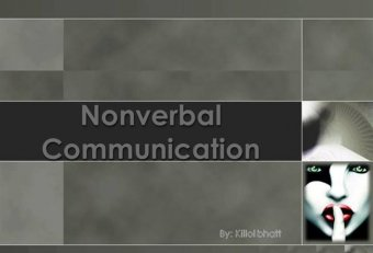 Appearance nonverbal communication