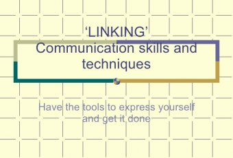 Business communication skills and techniques