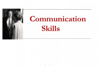 Business communication skills Training PPT