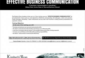 Effective business communication Training