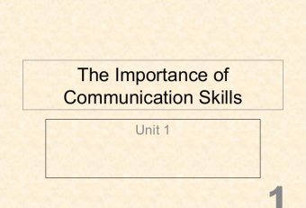 Importance of English in Business Communication PPT