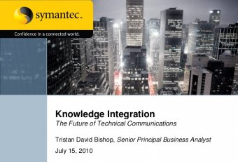 Integrated Business and Technical Communications