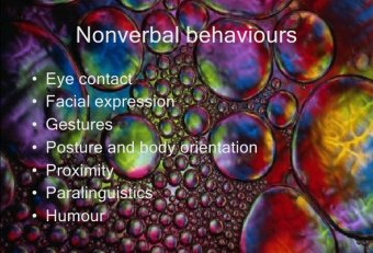 Nonverbal communication in Classroom
