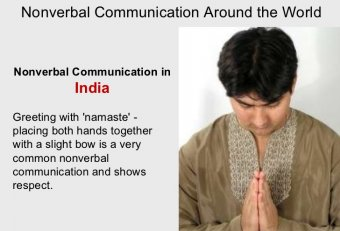 Nonverbal communication in Indian culture