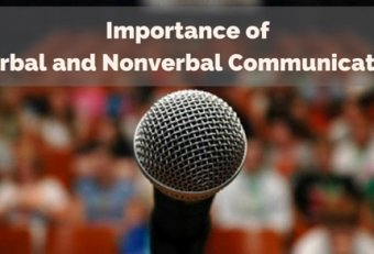 Verbal and nonverbal communication in the workplace