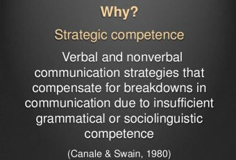 Verbal and nonverbal communication strategies
