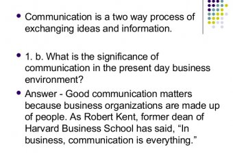 What is business communication skills?