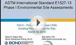 ASTM International Standard Webinar Part II 2