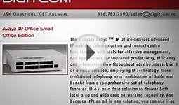 Avaya IP Office Small Office Edition | Digitcom.ca (Business