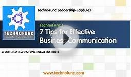 Business Communication - IT Leadership