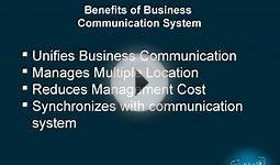 Business Communication System briefly define by fonebell