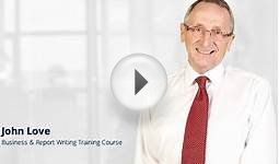 Business & Report Writing Skills Course