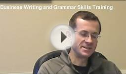 Business Writing and Grammar Skills Training