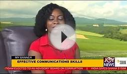 Effective Communication Skills - My Banner (2-2-15)