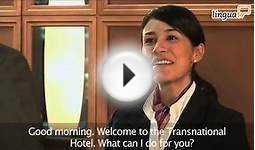 "English for Hotel and Tourism: ""Checking into a hotel"" by"