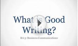 Episode 1: What is Good Writing?