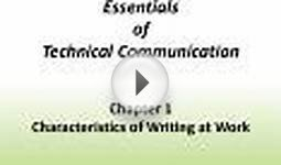 Essentials of Technical Communication Chapter 1