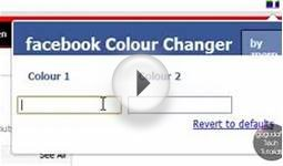 How to Change Your Facebook Color Scheme (Google Chrome)