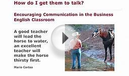 John Allison: Encouraging Communication in the Business