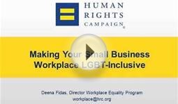 Making Your Small Business Workplace LGBT-Inclusive