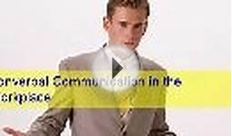 贝玲妃 Nonverbal Communication in the Workplace -