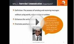 Nonverbal Communication - Knowledge Services