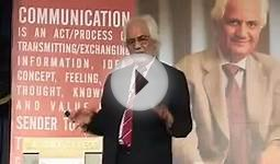 Verbal & Non-Verbal Communication (part 04) by Prof